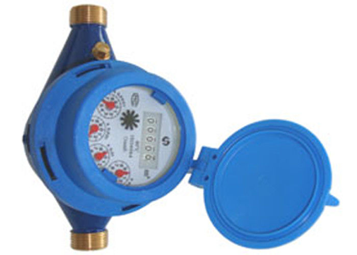 Rotary Register Brass DN15 Multi Jet Water Meter With Rotary Piston Theory ISO 4064B